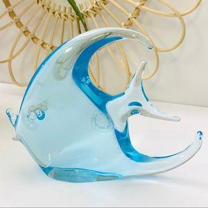 Vintage   Murano V. Nason & Co. Art Glass Fish